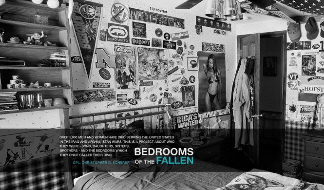 ashley gilbertson bedrooms of the fallen