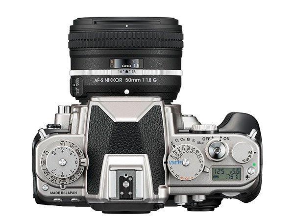 Nikon Df controls